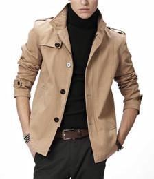 男士天丝棉弹力休闲夹克外套