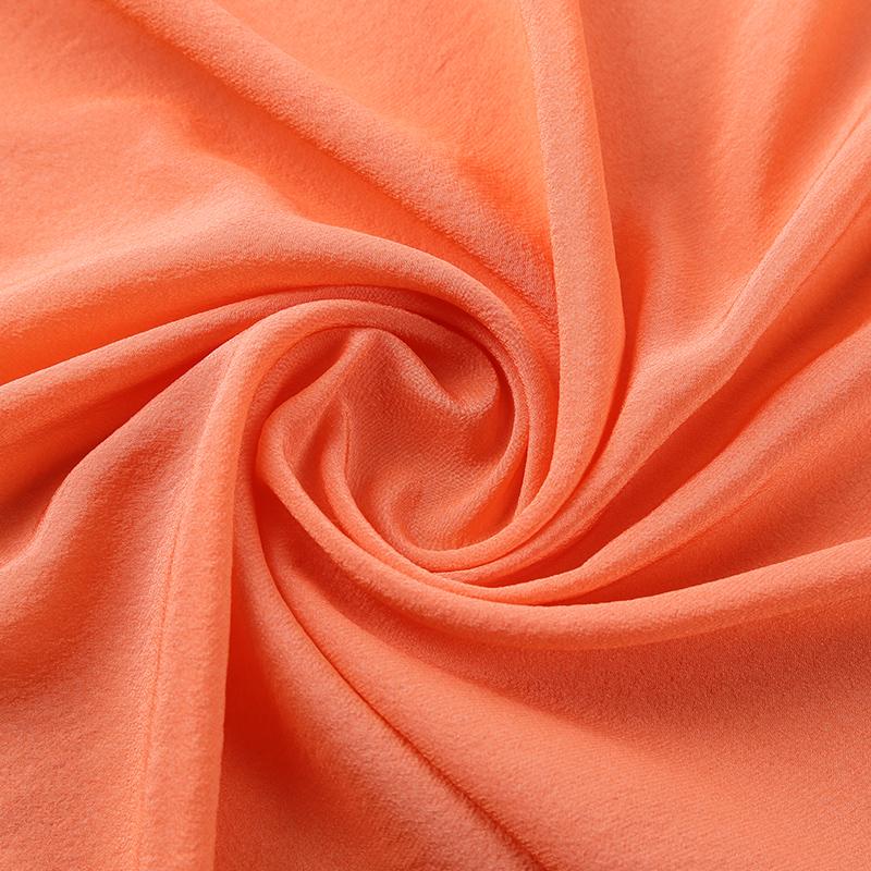 真丝与人造丝交织,SV4605,新型桑蚕丝服装面料,高级春夏时装布料