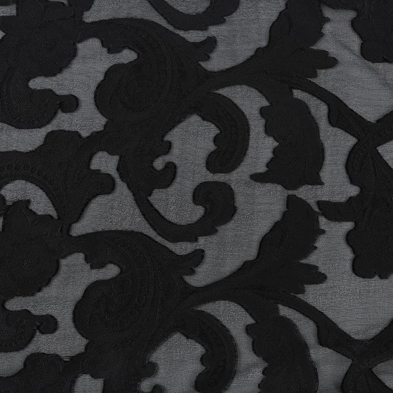 桑蚕丝和人造丝交织面料SV57682,新型真丝面料提花,高级服装布料定制