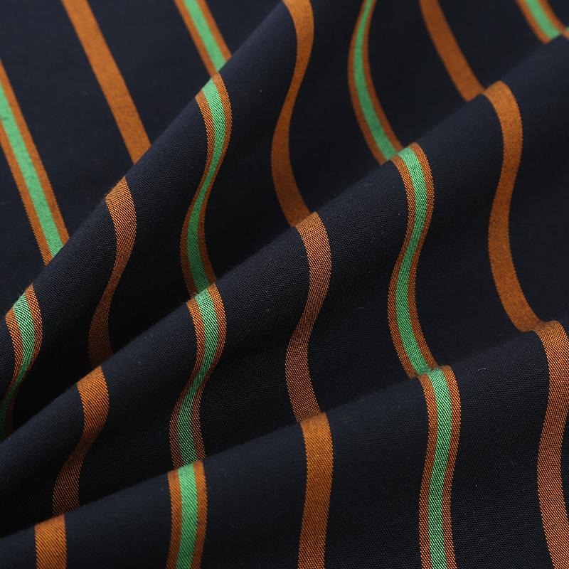 天丝色织条子面料Te12121-S,平纹组织中轻厚度,新型春夏连衣裙衬衣休闲面料