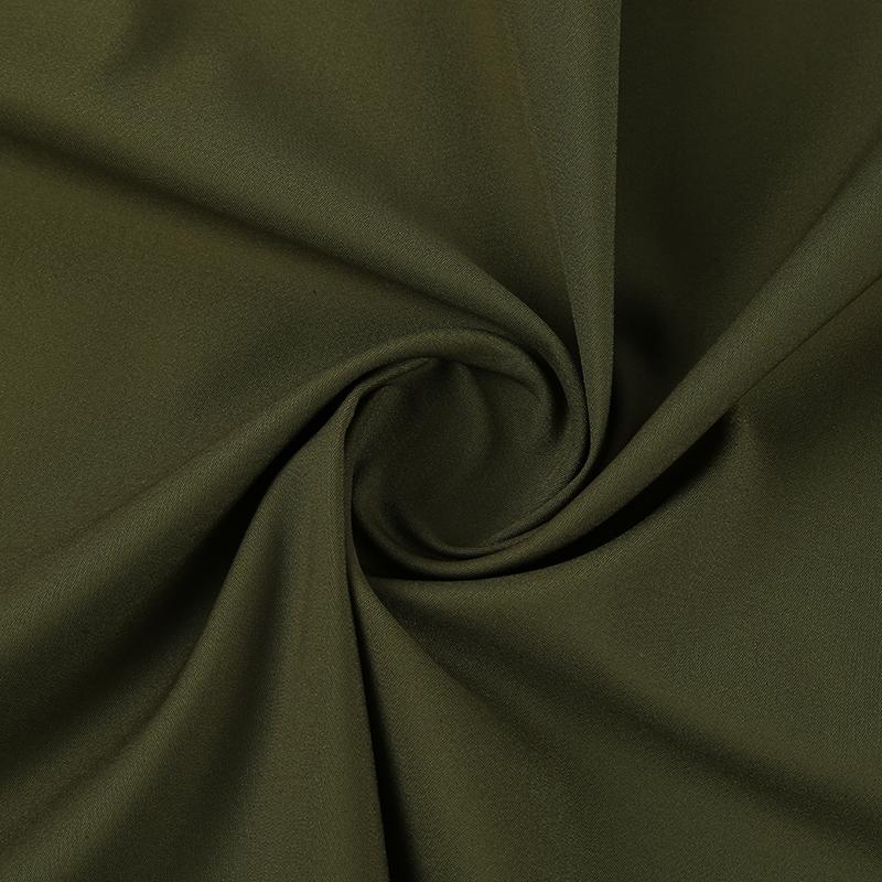 棉锦交织弹力双层组织面料CNS1045,春秋季休闲风衣和弹力裤布料,1V1定制